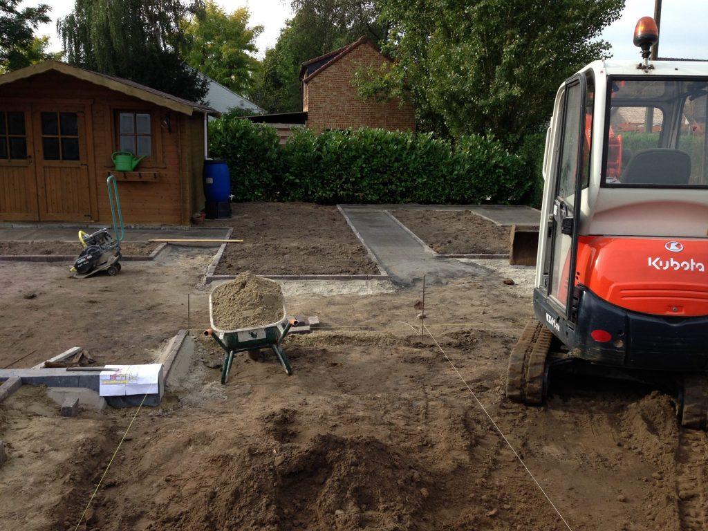 grondwerken en tuinaanleg